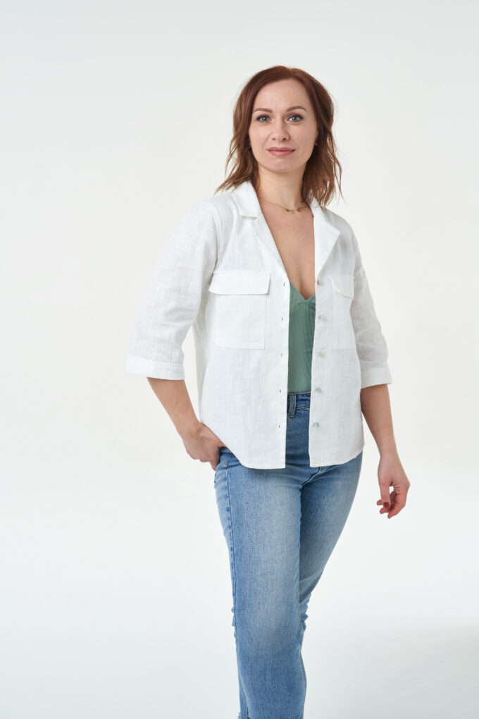 Sew Over It -Jodie Shirt