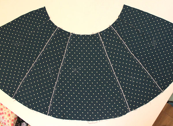 1940's Tea Dress Sewalong - Constructing the Skirt | Sew Over It