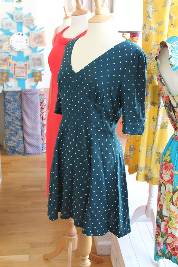 Sew Over It | 1940\'s Tea Dress Sewalong No. 10: The finished dresses ...