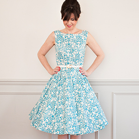 Betty dress sew along 2018