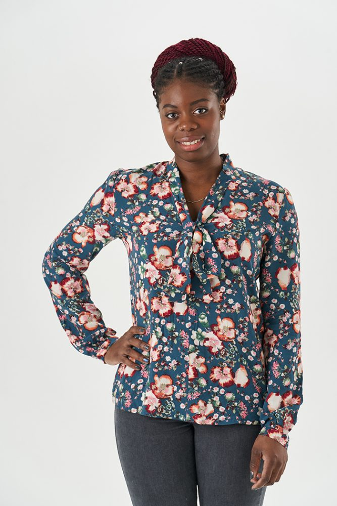 Pussy Bow Blouse :: Sewing pattern by Sew Over It