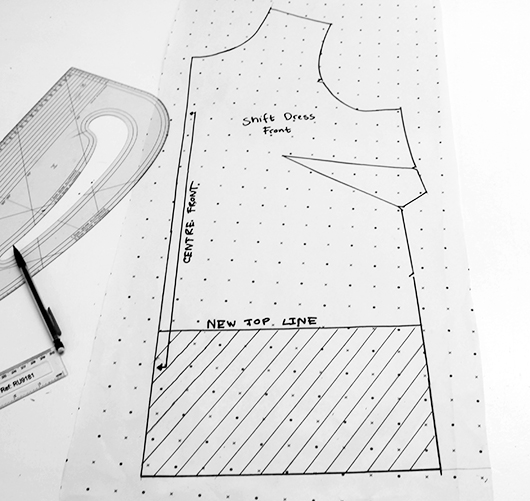 Sew Over It | Ultimate Shift Pattern Hack: Button-back Cropped Top ...