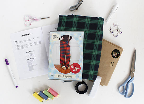 Sew Over It Ultimate Pyjamas Sewing Dressmaking Kit