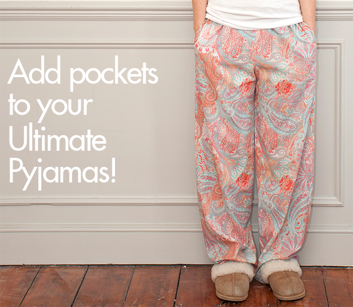 image relating to Printable Pajama Pants Pattern named Sew Above It Insert Pockets toward your Supreme Pyjamas: Reward
