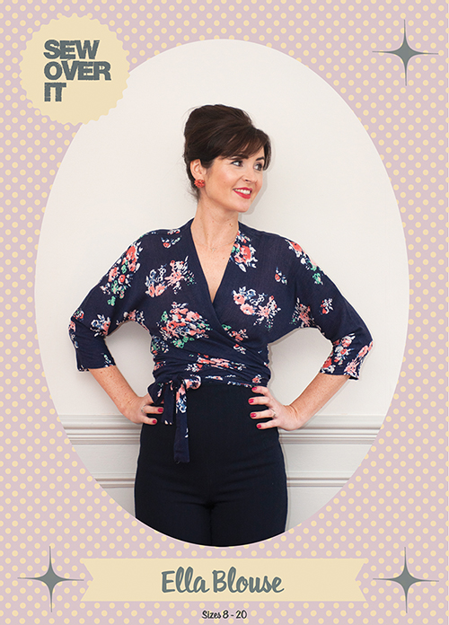 Sew Over It Ella Blouse Sewing Pattern