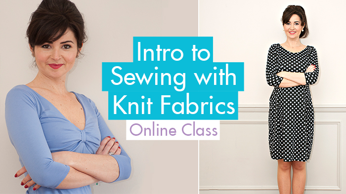Sew Over It Intro To Sewing With Knits Fabrics A New Online