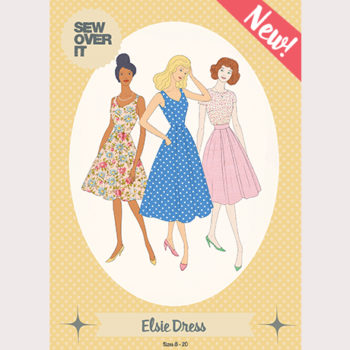 The Elsie Dress Pattern Hits the Shelves!