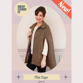 The Chic Cape PDF Pattern is Here!