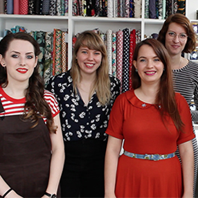 Sew Over It team sews their own City Break makes from our My Capsule Wardrobe eBook :: Sew Over It