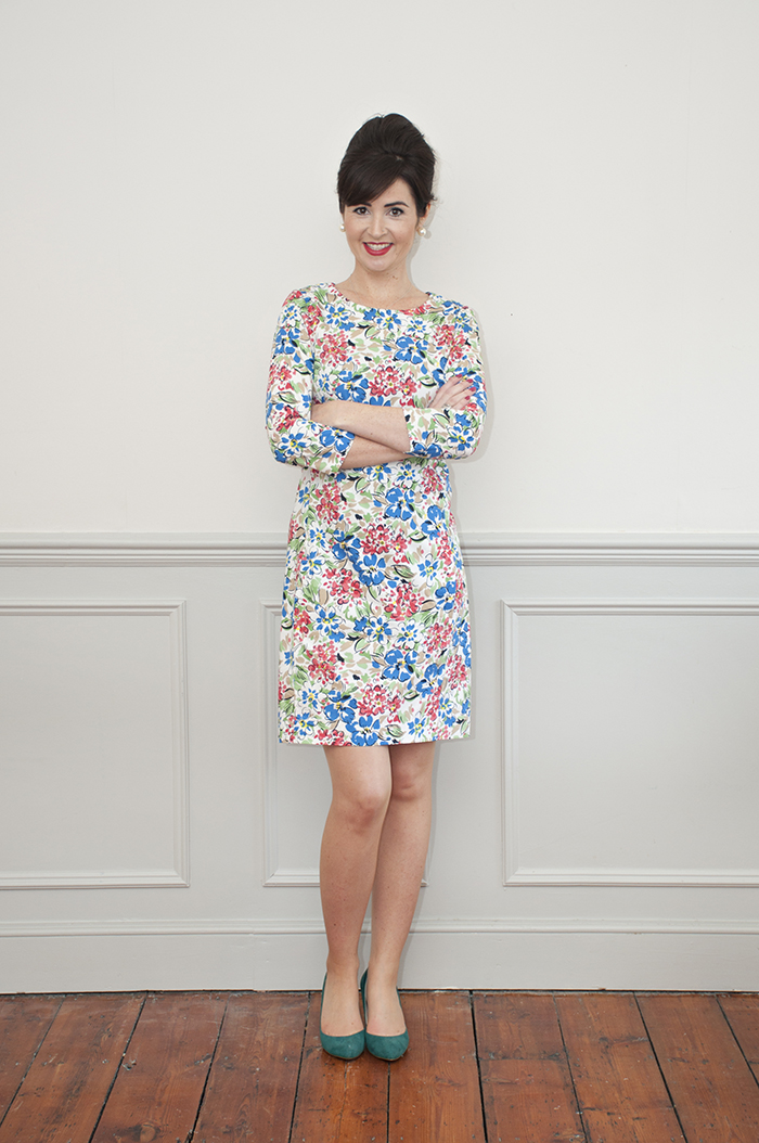 Sew Over It Zoe Dress sewing pattern - available in paper and PDF formats!
