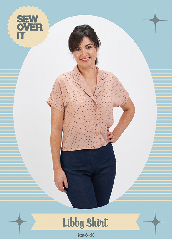 Sew Over It Libby Shirt Sewing Pattern