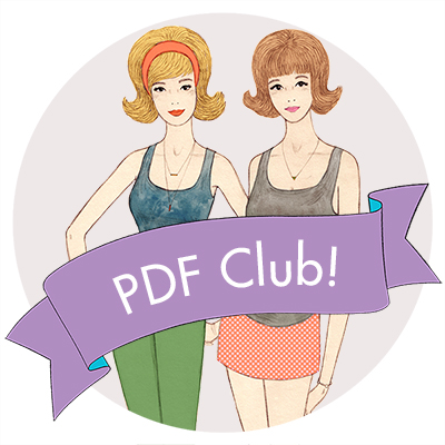 Sew Over It's PDF Club