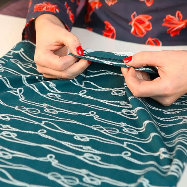 Three ways to hem knit fabrics