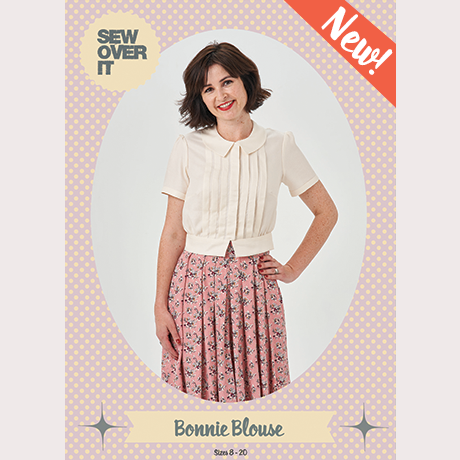 Sew Over It Bonnie Blouse & Dress - sewing pattern by Sew Over It