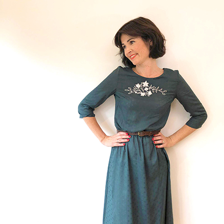 Whitley Top: Gathered Skirt Hack