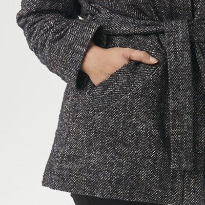 Sewing the Dahlia Coat Pockets