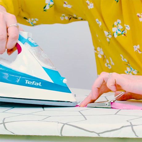 How to use a bias binding maker
