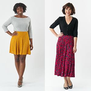 Make a Godet Skirt: Haxby Skirt