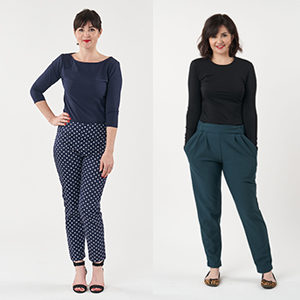 trousers by sew over it