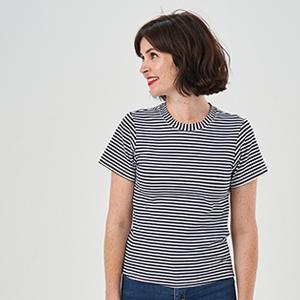 Make a Knit T-Shirt: Bilberry T-Shirt