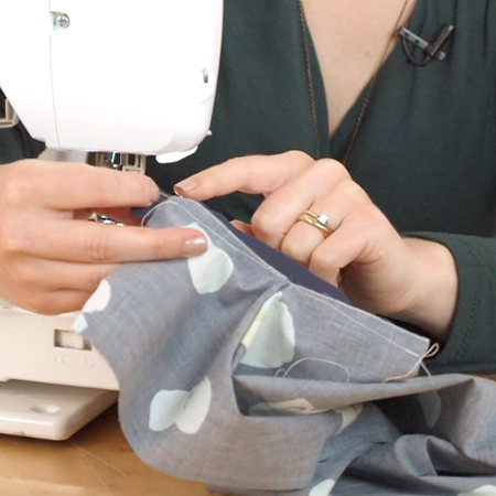 How to sew a cuff binding