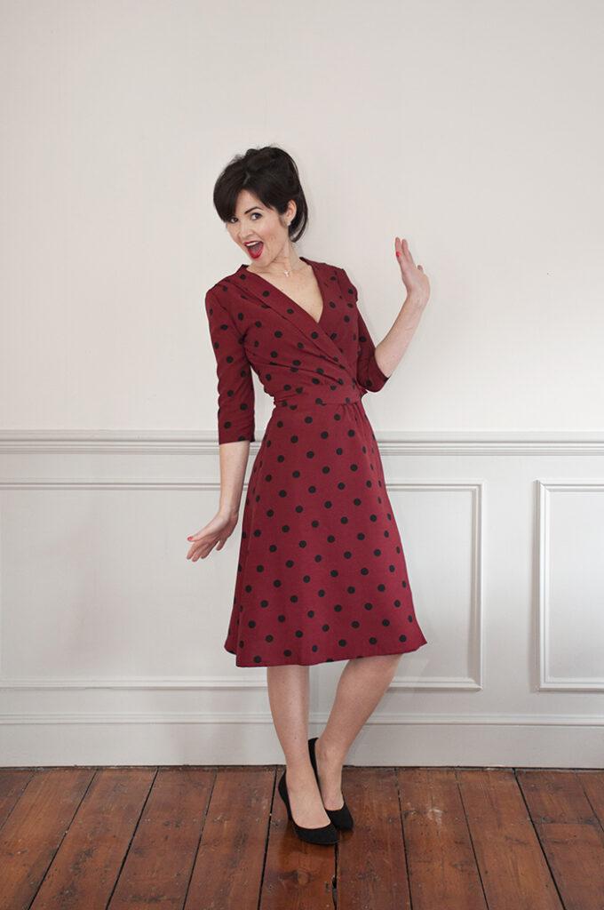 Sew Over It - 1940s Wrap Dress