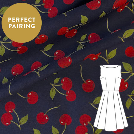 Sew Over It Online Shop - Cotton - Cherry Dream