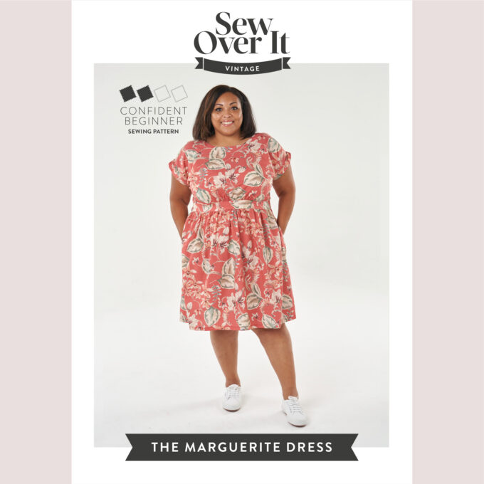 Marguerite pattern cover