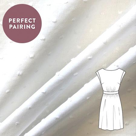 Sew Over It - Cut Spot White