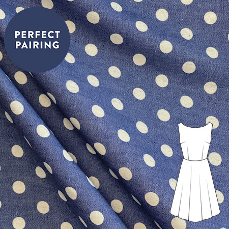 Sew Over It - Chambray Polka