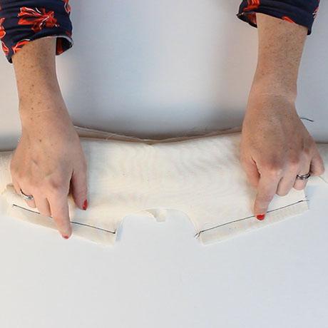 How to sew a yoke: burrito method