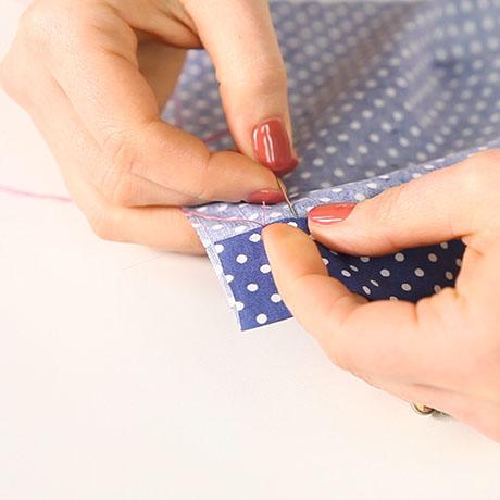 How to slip stitch