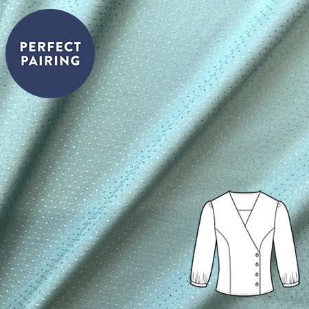 Sew Over It - Atelier Brunette Dobby Green