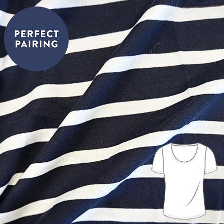 sew over it online shop - jersey - breton stripe navy