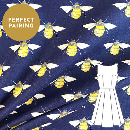 Sew Over It - Cotton Busy bees