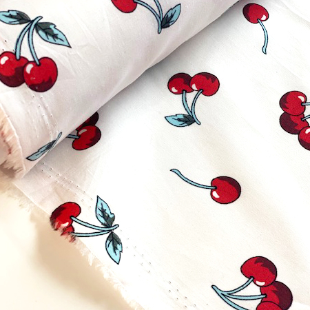 Sew Over It - falling cherries cotton