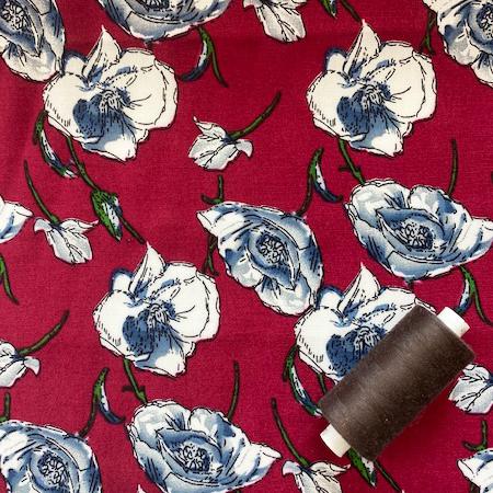 Sew Over It - Wild Rose viscose