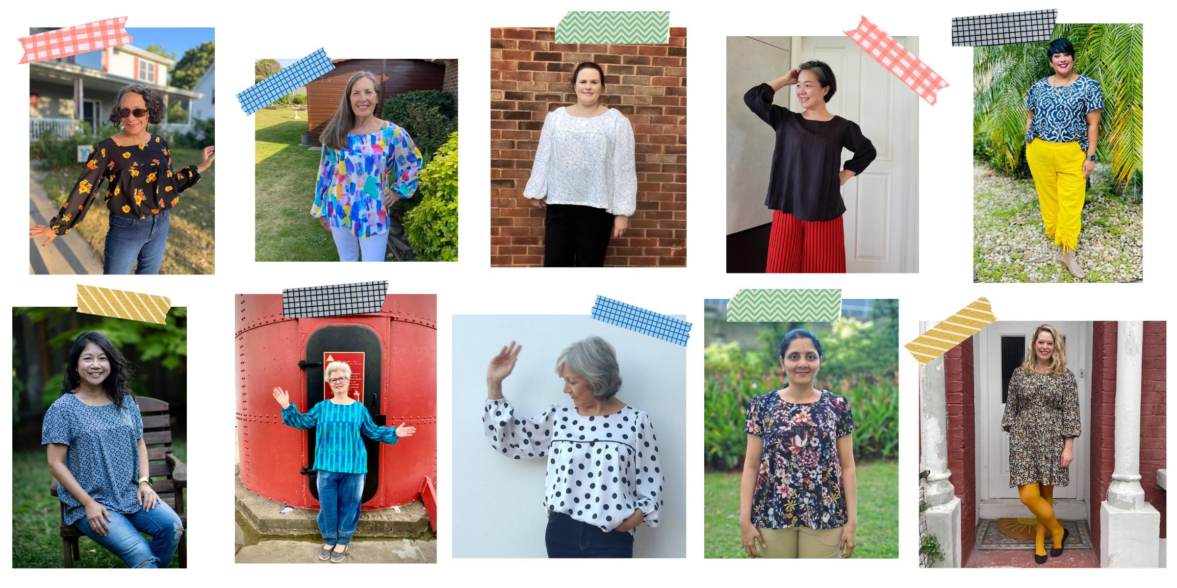 Sew Over It - Frida Blouse & Dress