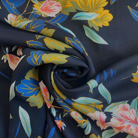 Sew Over It - Aditi Black Viscose