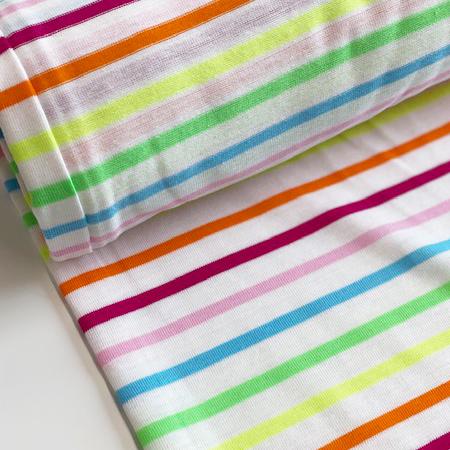 Sew Over It - Cotton Jersey Rainbow Stripes