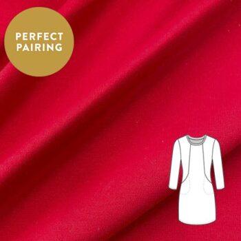 Sew Over It - Roma Di Ponte red