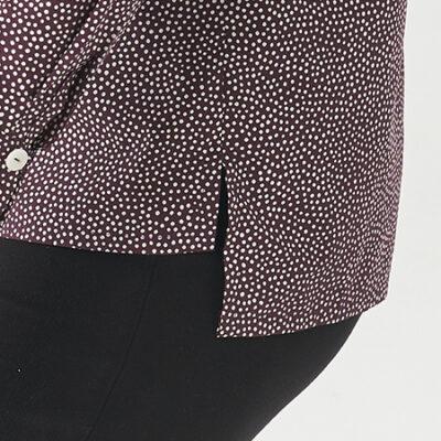 Salma Dress Pattern Hack: Split Hem Jumper