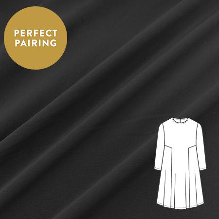 Sew Over It - Luxury Crepe Black