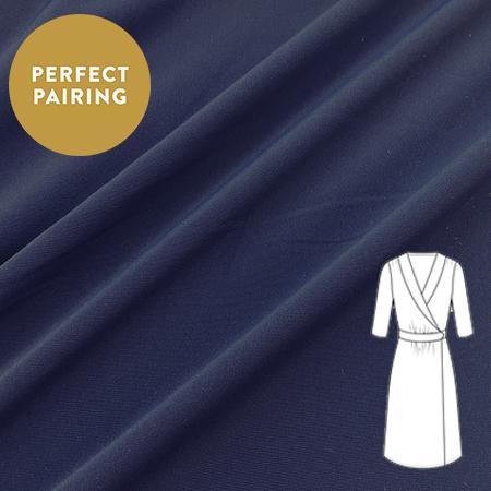 Sew Over It - Luxury Crepe Navy